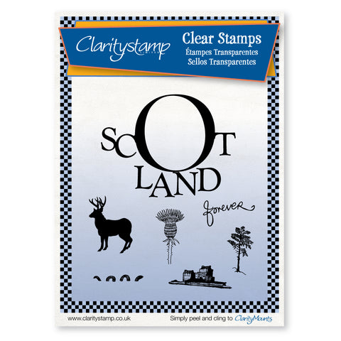 Scotland <br/>Unmounted Clear Stamp Set