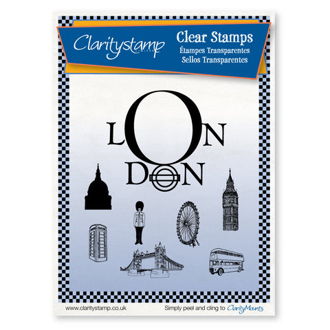 London <br/>Unmounted Clear Stamp Set