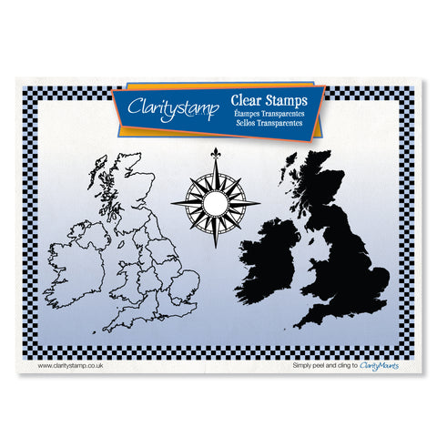 British Isles <br/>Unmounted Clear Stamp Set