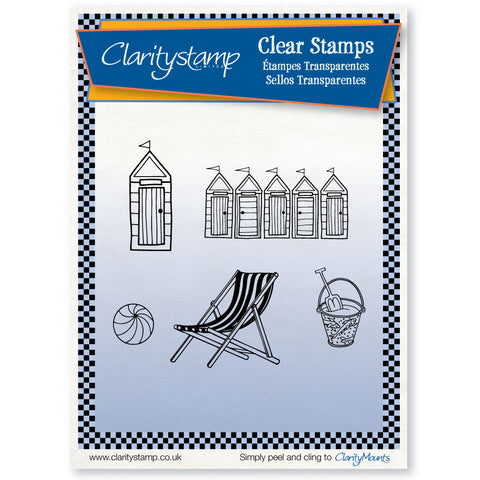 Beach <br/>Unmounted Clear Stamp Set