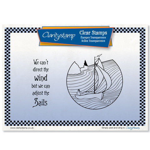 Adjust the Sails Unmounted Clear Stamp Set <OOS>