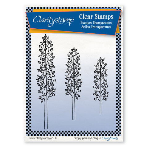 Outline Saplings <br/>Unmounted Clear Stamp Set