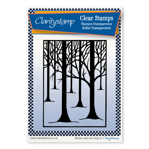 Treescape <br/>Unmounted Clear Stamp