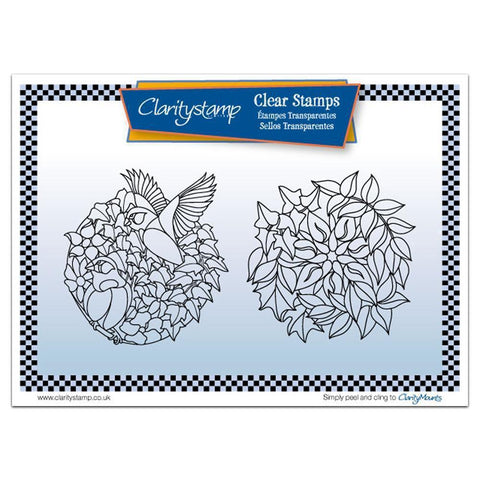 Autumn Rounds + MASK Unmounted Clear Stamp Set
