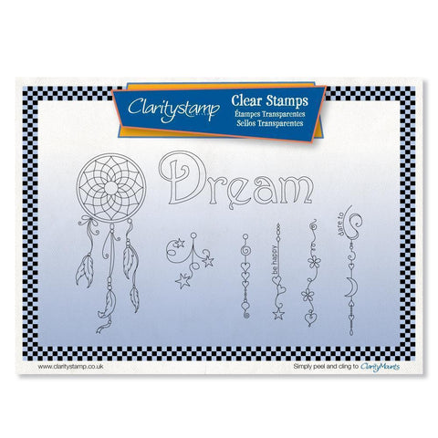 Linda's Dream Dangles <br/>Unmounted Clear Stamp Set