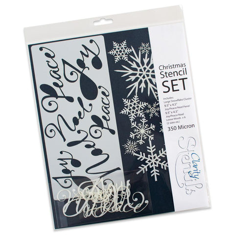 Christmas Stencils (Set of 8)