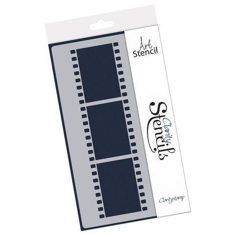 Film Strip Stencil