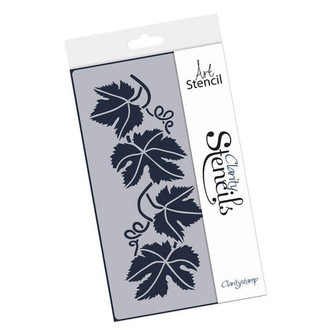 Vine Leaf Strip Stencil
