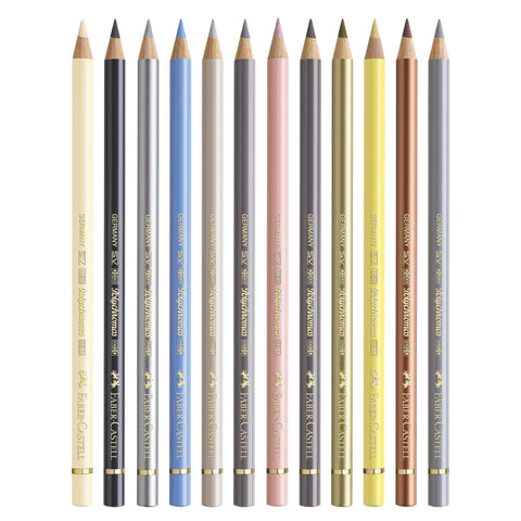 Faber-Castell Polychromos Artists' Pencils - Set of 12