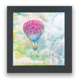 Barbara's SHAC Hot Air Balloon & Bird Table A5 Stamp Collection