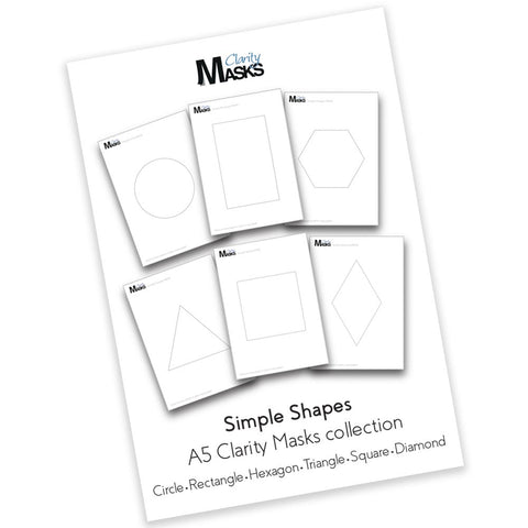 Simple Shapes Aperture Masks Set