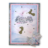 Silent Night <br/>Unmounted Clear Stamp Set