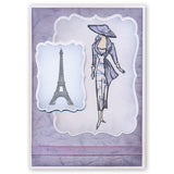 Sketchy Paris Fashion + MASK <br/>Unmounted Clear Stamp Set
