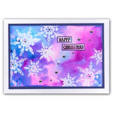 Snowflakes <br/>Unmounted Clear Stamp Set