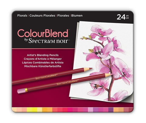 Spectrum Noir ColourBlend Pencils - Florals