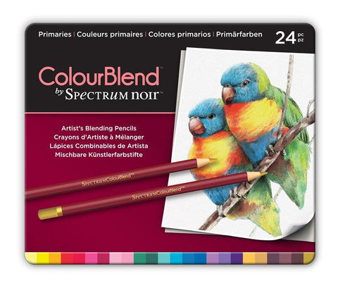 Spectrum Noir ColourBlend Pencils - Primaries