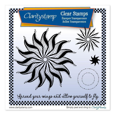 Leonie's Wings Circus Unmounted Clear Stamp Set