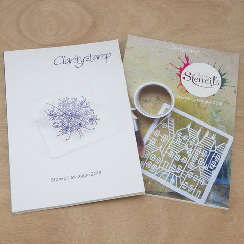 Claritystamp and Clarity Stencil Catalogue 2018