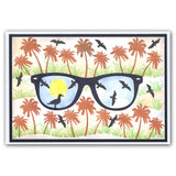 Summer Shades + MASK <br/>Unmounted Clear Stamp Set