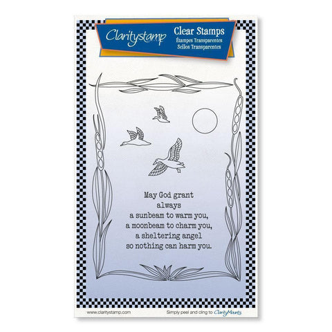 Sunbeam Moonbeam <br/>Unmounted Clear Stamp Set