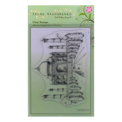 Taj Mahal <br/>Unmounted Clear Stamp Set