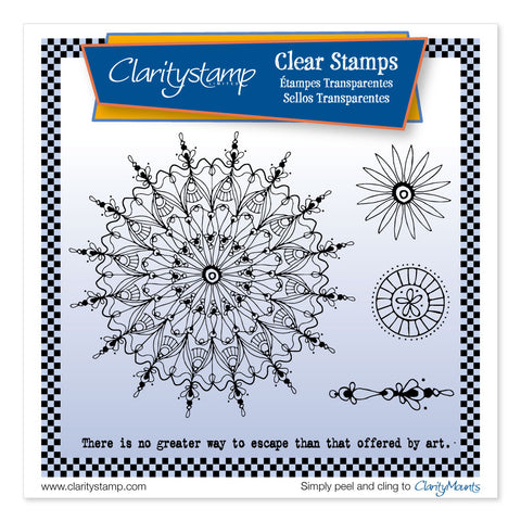 Leonie's Art Circus <br/>Unmounted Clear Stamp Set