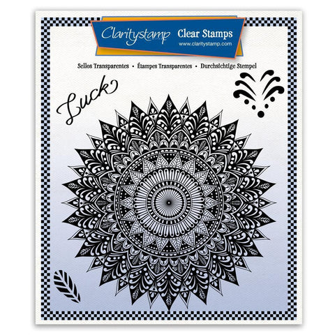 Tina's Luck Mandala A5 Square Stamp Set