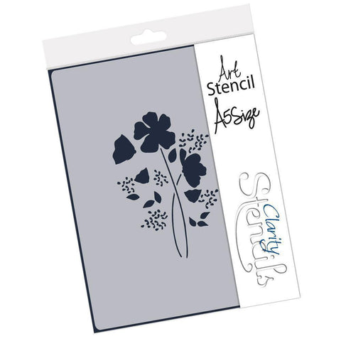 Tina's Wild Flower Spray Stencil A5
