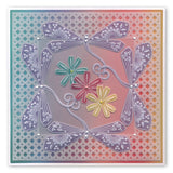 Tina's Dragonfly Fun <br/>A5 Square Groovi Plate <br/>(Set GRO-AN-41015-03)