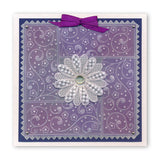 Tina's Floral Layering Rectangles <br/>A5 Square Groovi Plate