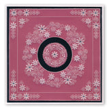 Tina's Rosie Doodle Wreath <br/>A5 Square Groovi Plate
