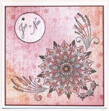 Tina's Henna Corners 1 <br/>Unmounted Clear Stamp Set