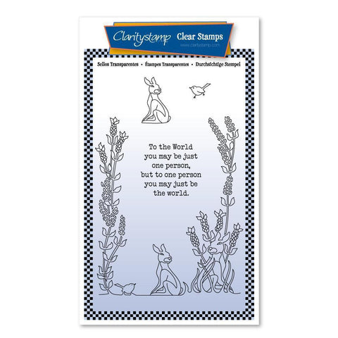 To The World A6 Poetry Stamp Set