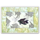 Tropical Fish & Coral <br/>Unmounted Clear Stamp Set