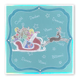 Twas the Night 8 - Toys <br/>A6 Square Groovi Baby Plate