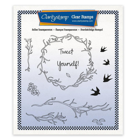 Tweet Yourself! - A5 Square Unmounted Stamp Set