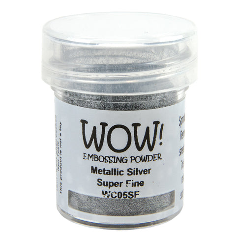 Embossing Powder Super Fine 15ml - Metallic Silver