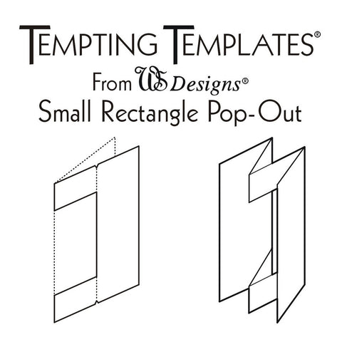 Small Rectangle Card Template