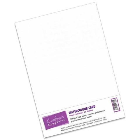 Watercolour Card A4 (Pack of 15)