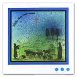 While Shepherds Watched <br/>Unmounted Clear Stamp Set