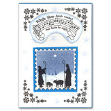 While Shepherds Watched Unmounted Clear Stamp Set