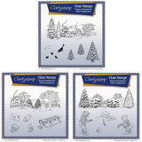 Jayne Nestorenko's Winter Scenes Collection <br/>Unmounted Clear Stamp Sets