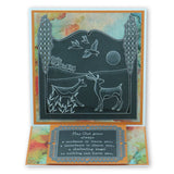 Woodland Animals & Treescape <br/>A5 Square Groovi Plate Set