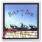Word Chain 13 - Merry Christmas <br/>Unmounted Clear Stamp Set