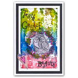 Word Chain 12 - Beauty Unmounted Clear Stamp Set