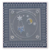 Swing on a Star A5 Square Groovi Plate (Set GRO-AL-40495-03)