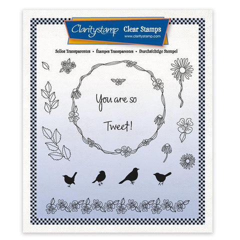 You are so Tweet! - A5 Square Unmounted Stamp Set