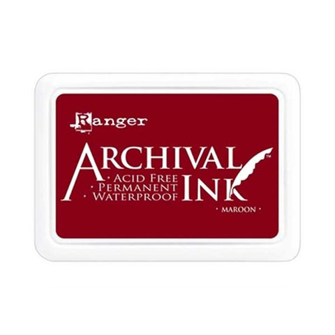Archival Ink Pad - Maroon