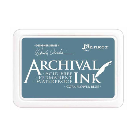 Archival Ink Pad - Cornflower Blue
