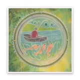 Boating Rounds Trio A5 Square Groovi Plate Set
